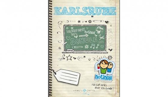 Bild eines Hausaufgabenheft