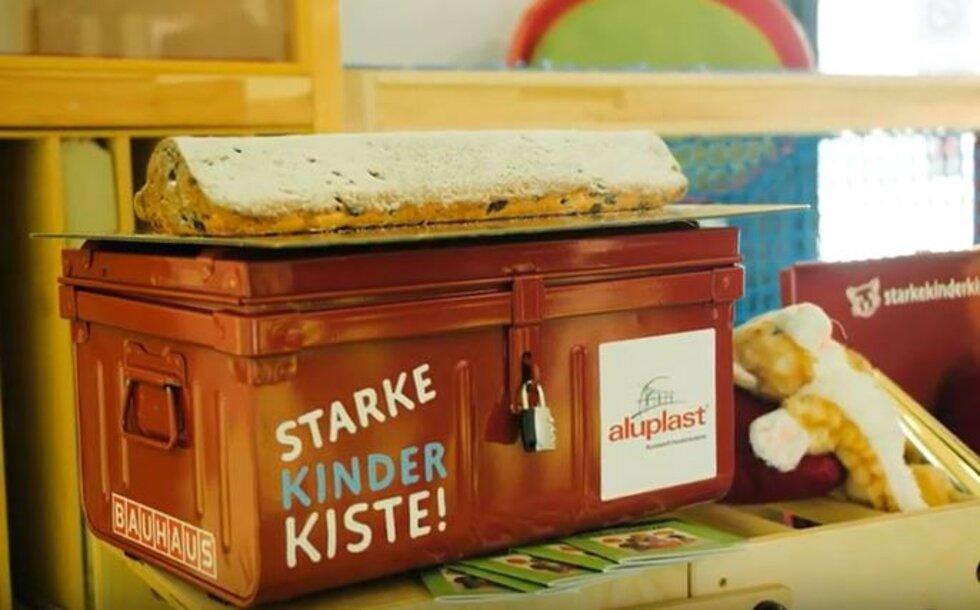 Christstollen Anschnitt und STARKE KINDER KISTE!