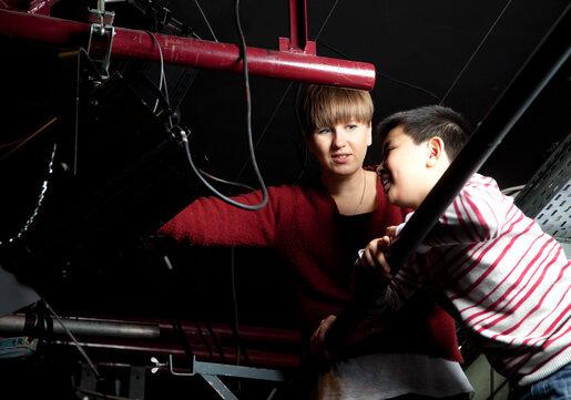 Kulturlotsen mit Kind im Theater