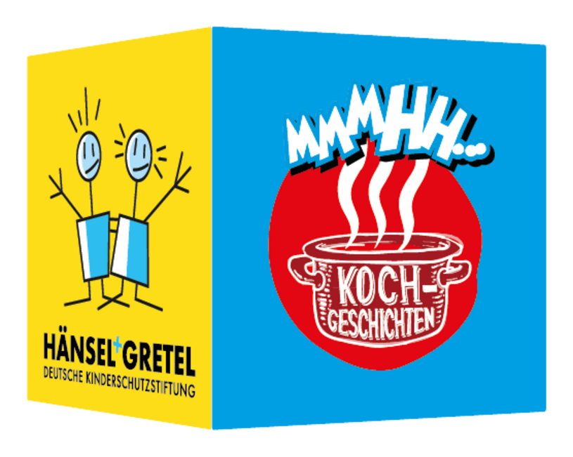 Karte mit Logo Kochgeschichten
