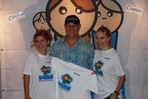 Axel Schulz unterstütze das Notinselprojekt
