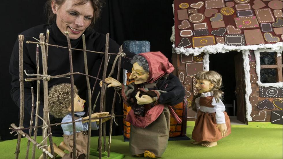 Puppentheater Hänsel und Gretel auf youtube!