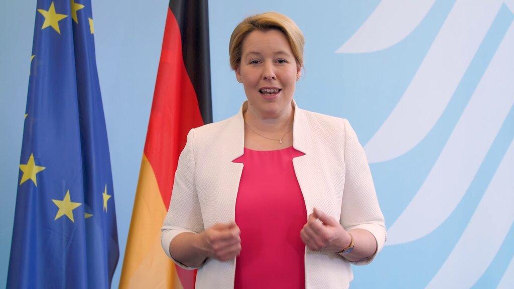 Frau Bundesministerin Franziska Giffey