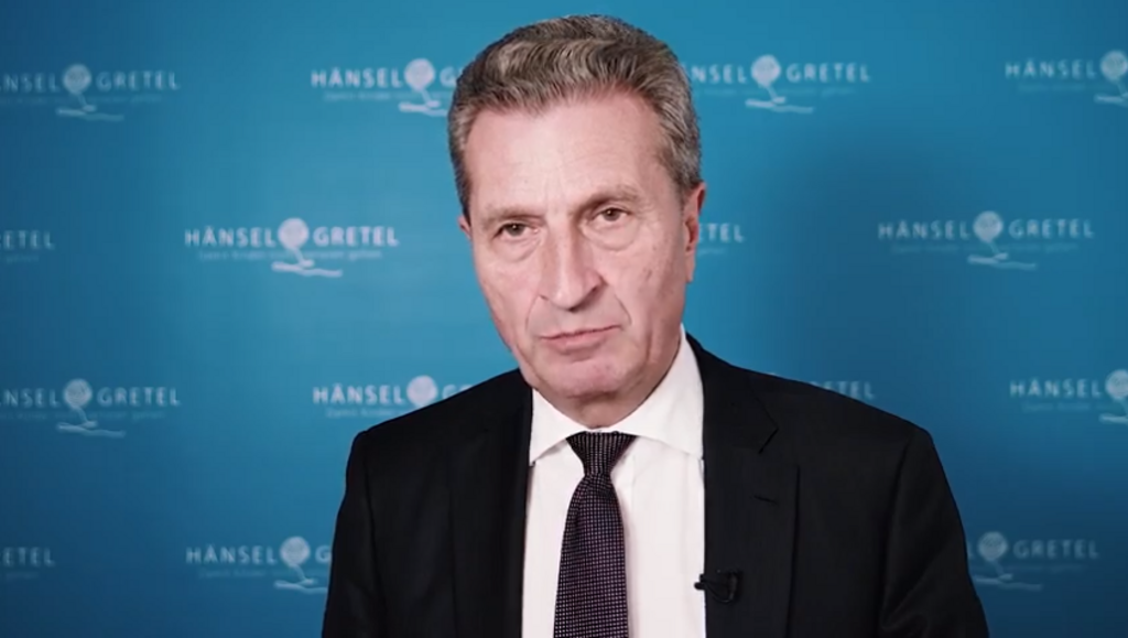 Günther H. Oettinger im Interview